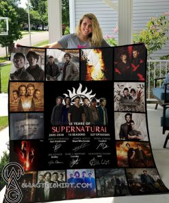 15 year of supernatural quilt