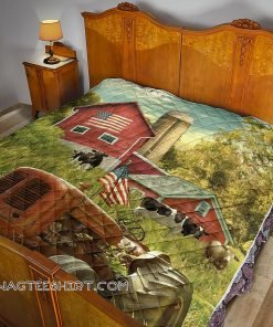 America farmer country life quilt