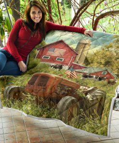 America farmer country life quilt 3