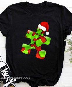 Autism santa christmas shirt