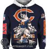 Chicago bears mascot all over print hoodie