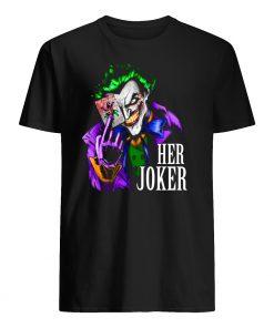 DC comics her joker mens shirt