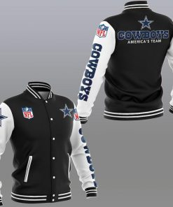Dallas cowboys america's team 3d jacket - black