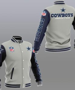 Dallas cowboys america's team 3d jacket - sportgrey