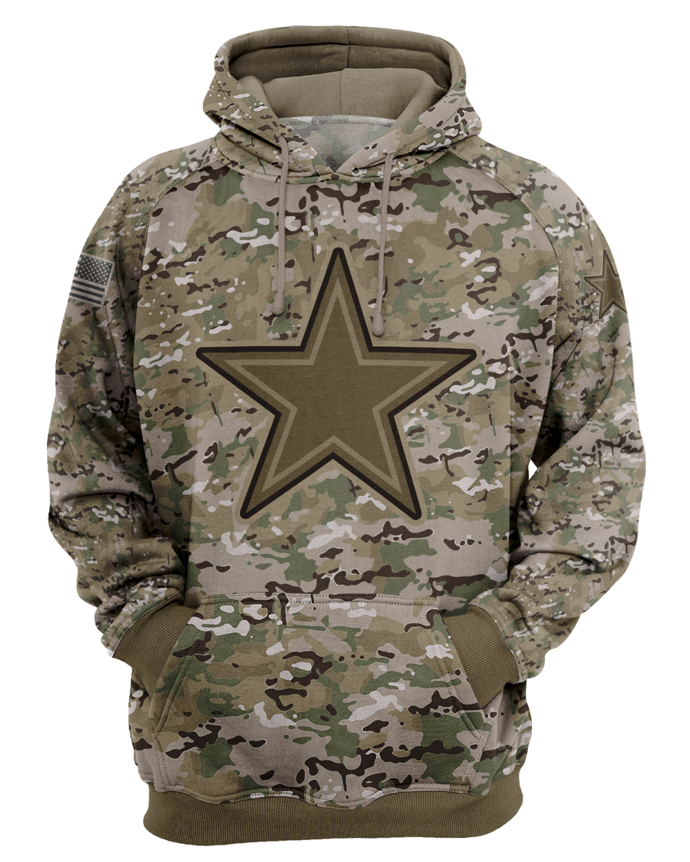 Dallas cowboys camo style all over