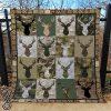 Deer hunting camo quilt