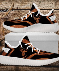 Deer hunting custom yeezy sneakers 4