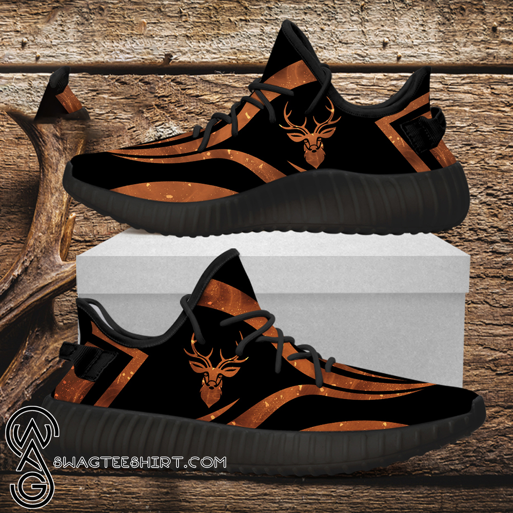 Deer hunting custom yeezy sneakers