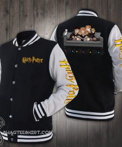 Friend tv show harry potter characters baseball jacket