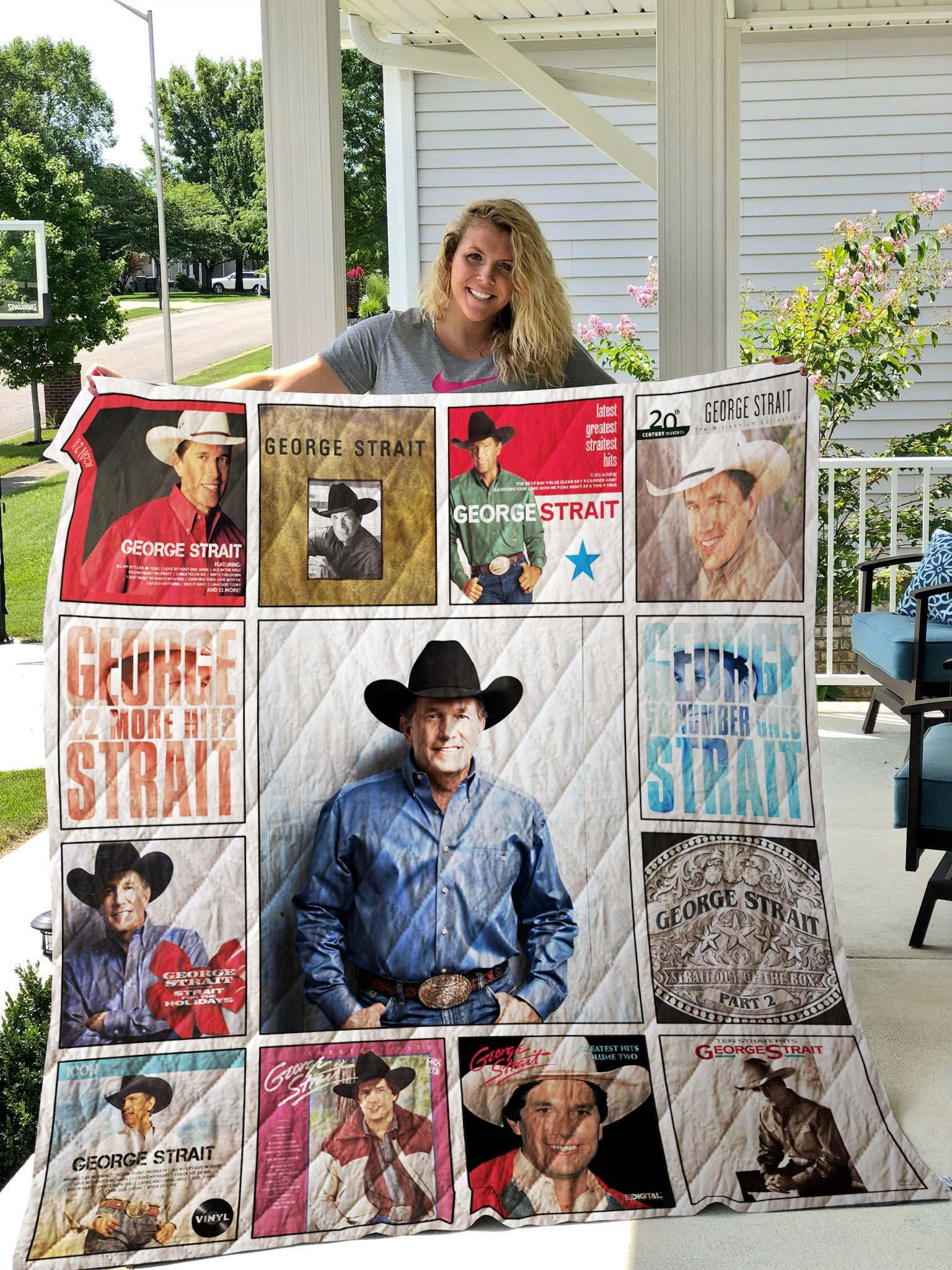 George strait complication albums quilt 3