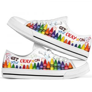 Get your cray on low top sneakers 3