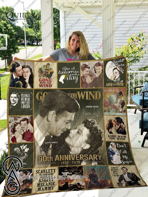 Gone with the wind 80th anniversary quilt