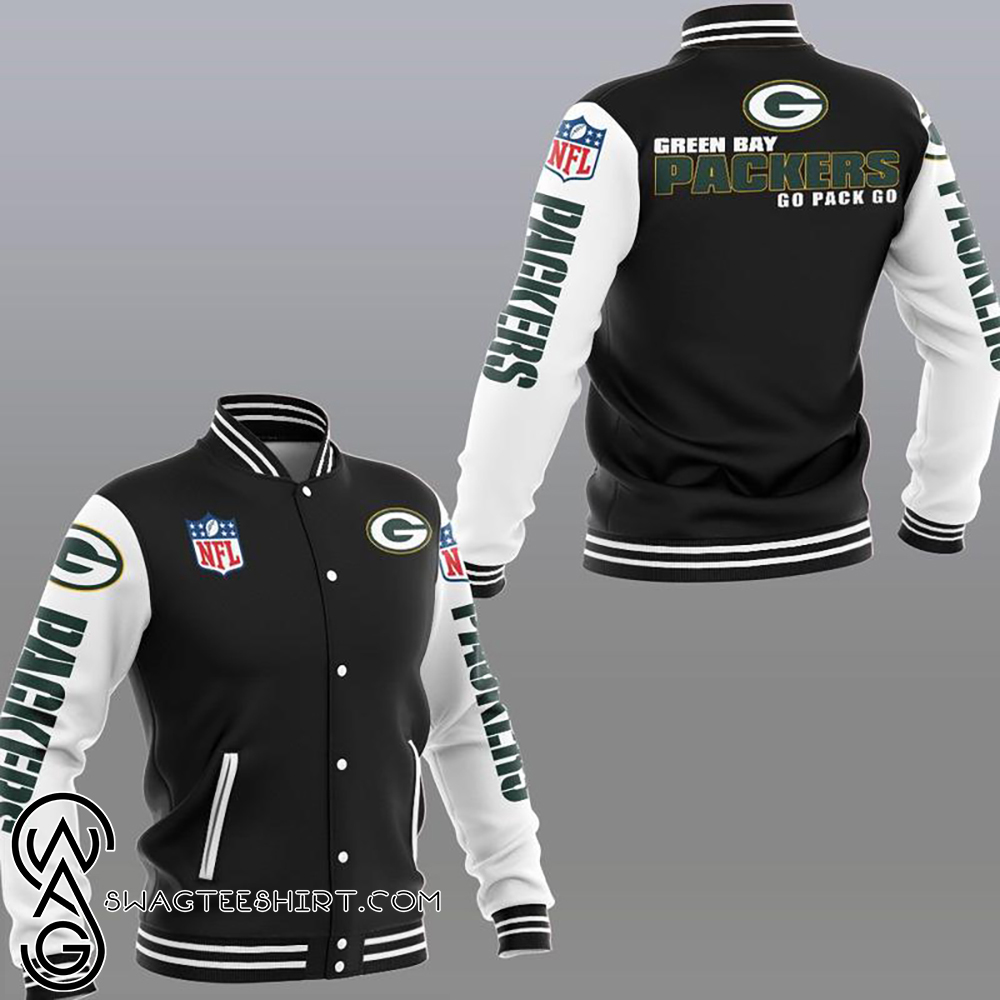 Green bay packers go pack go jacket