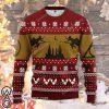 Harry potter full printing christmas sweatshirt