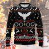Harry potter over print christmas sweatshirt