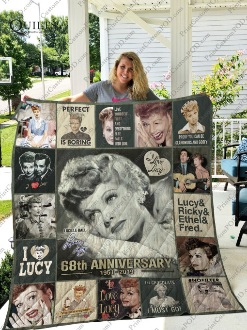 I love lucy 68th anniversary quilt 1