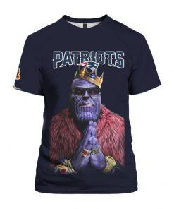 New england patriots thanos full printing tshirt
