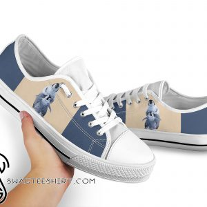 Penguin low top canvas sneakers