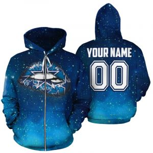 Personalized name and number dallas cowboys glitter lips full printing zip hoodie 1