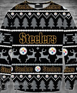 Pittsburgh steelers full printing ugly sweater