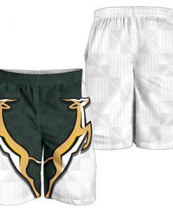 South africa springboks forever full printing shorts