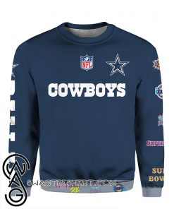 Stand for the flag kneel for the cross dallas cowboys all over print shirt