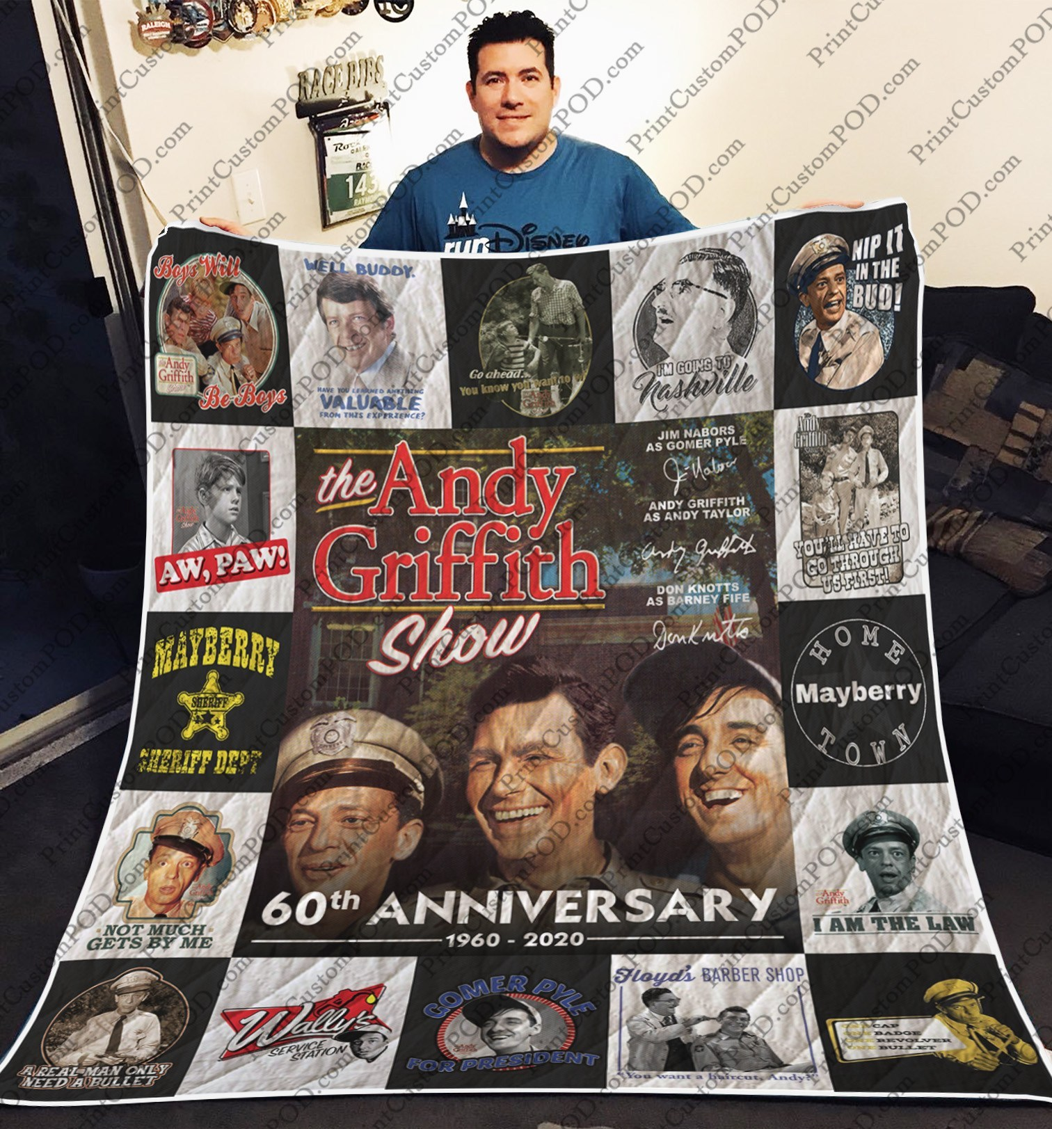 The andy griffith show quilt 1