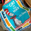 The cat in the hat dr seuss quilt