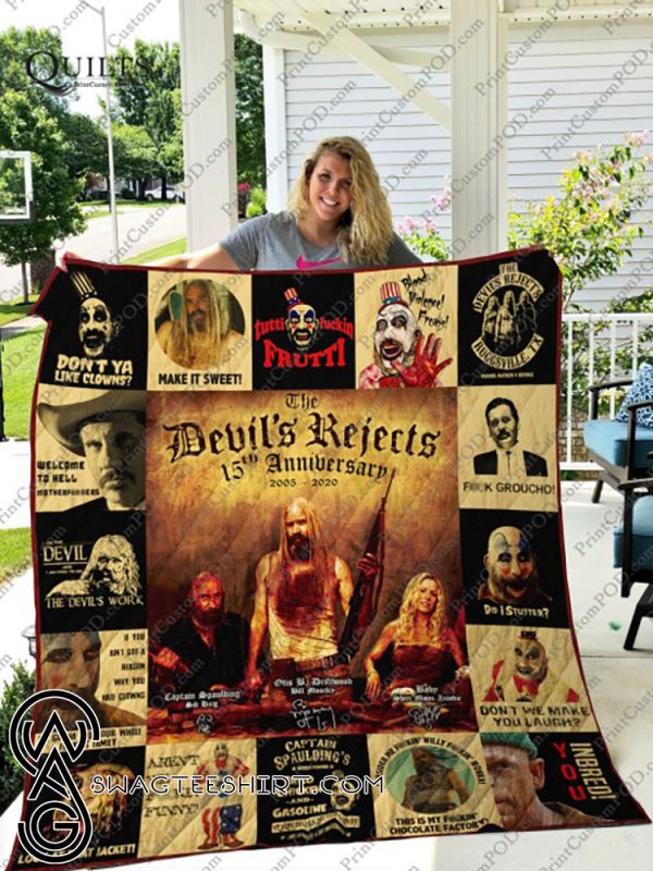 The devil's reject 15th anniversary quilt