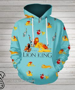The lion king all over printed shirt