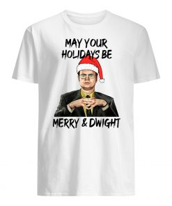 The office may your christmas be merry and dwight christmas mens shirt