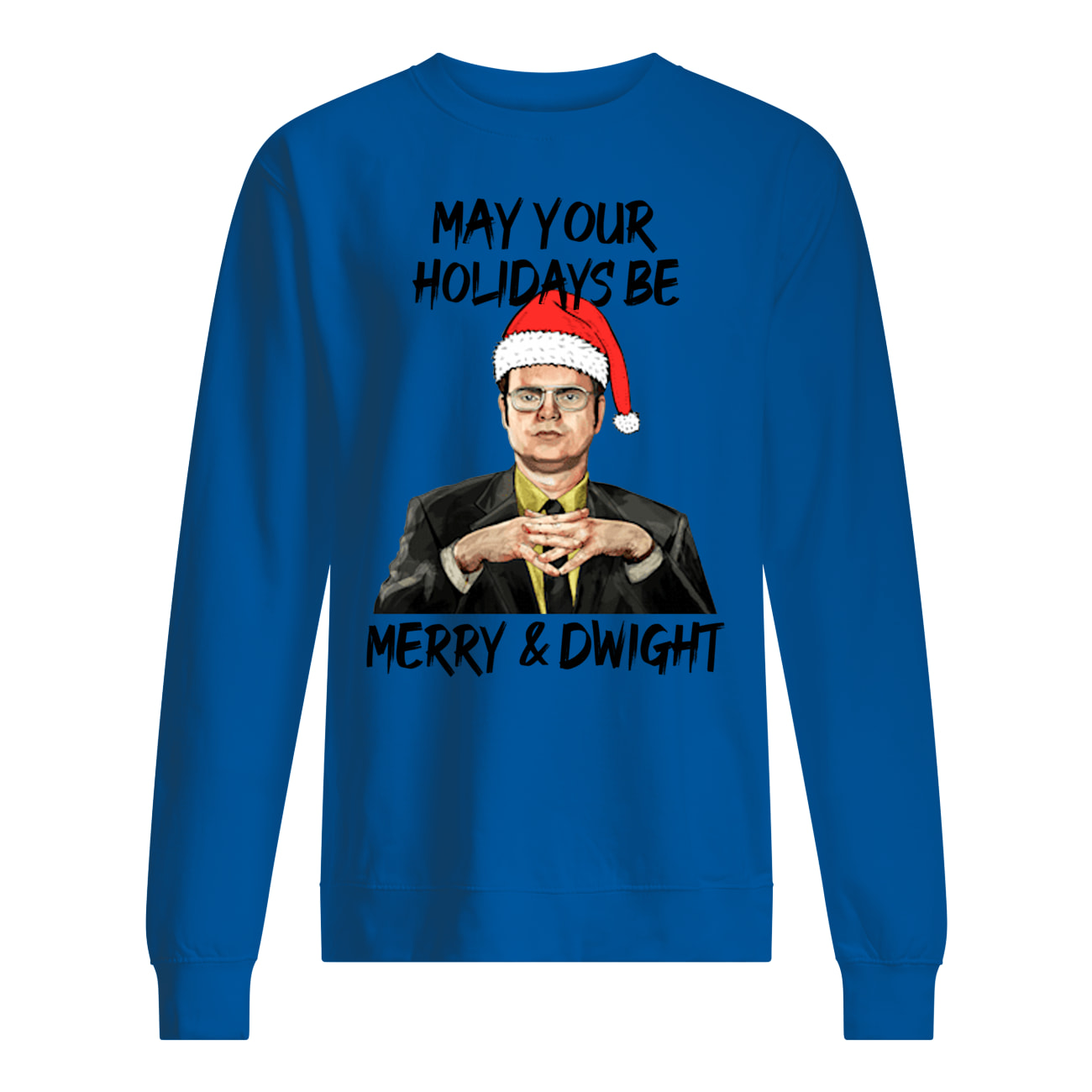 The office may your christmas be merry and dwight christmas sweatshirt
