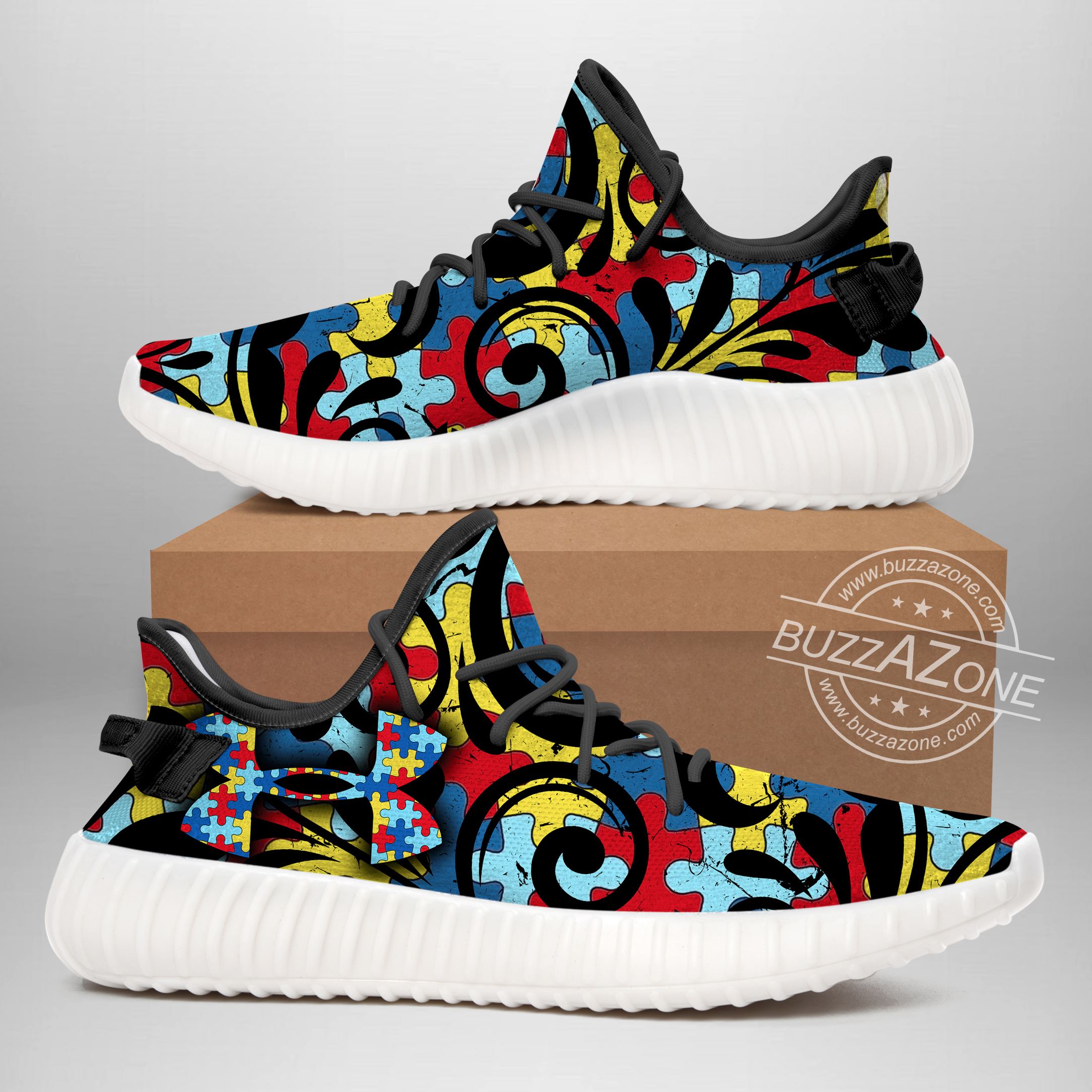 Under armour autism awareness yeezy sneakers 2