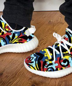 Under armour autism awareness yeezy sneakers