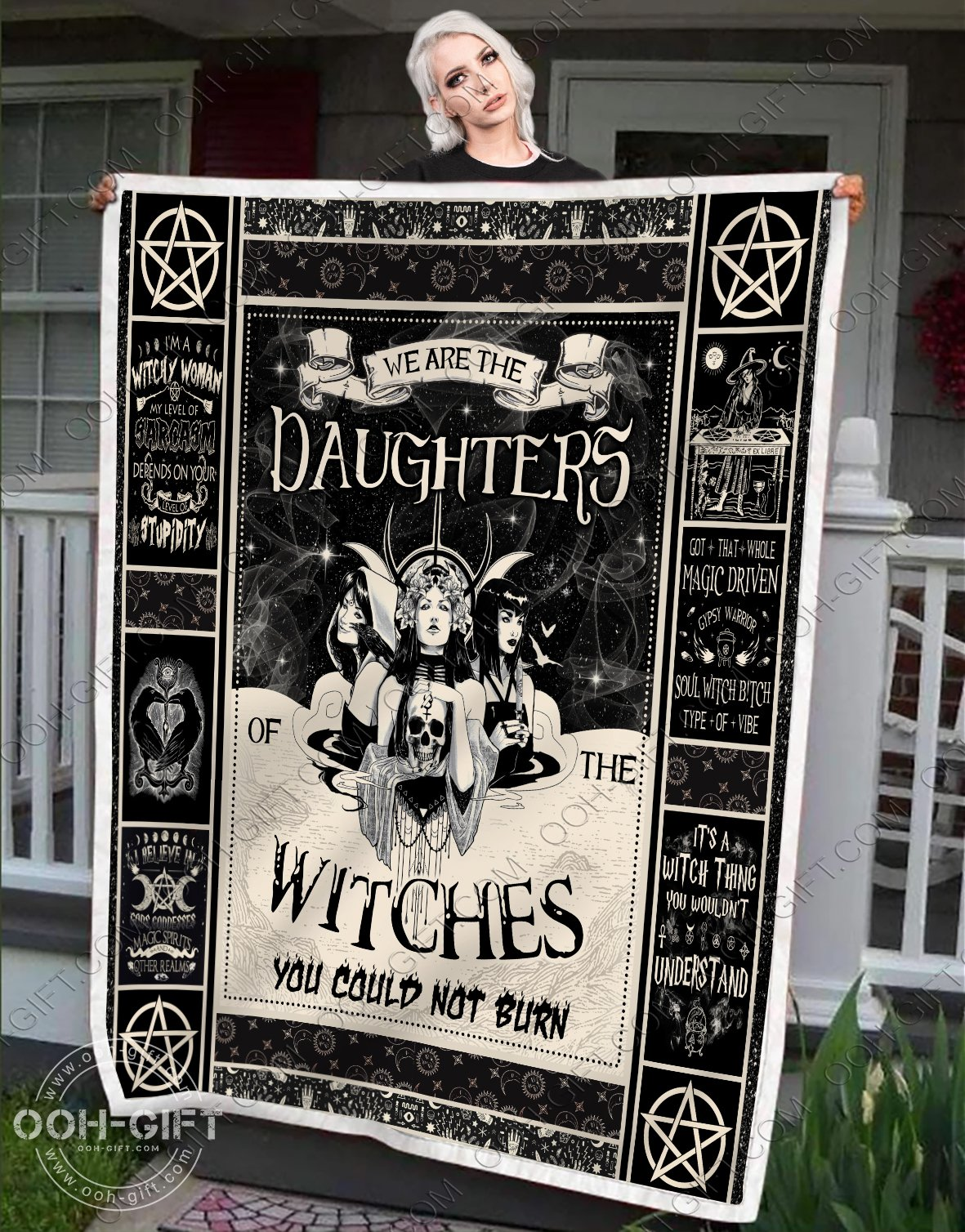 We are the daughters of the witches you could not burn blanket 2