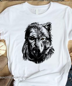 Wolf viking warrior shirt