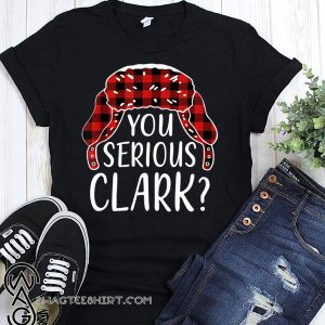 You serious clark christmas vacation plaid red shirt
