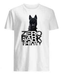 Zero bark thirty belgian malinois military dog hero mens shirt
