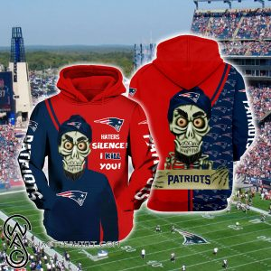 Achmed the dead terrorist haters silence i kill you new england patriots full printing shirt