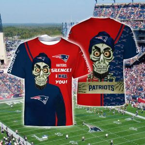 Achmed the dead terrorist haters silence i kill you new england patriots full printing tshirt
