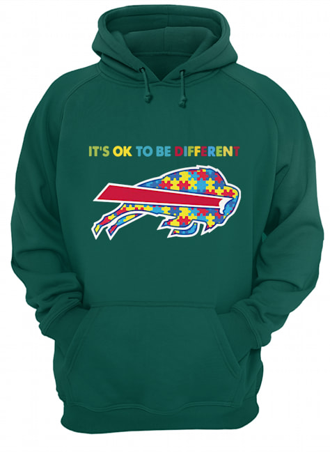 Autism awareness it's ok to be different buffalo bills hoodie
