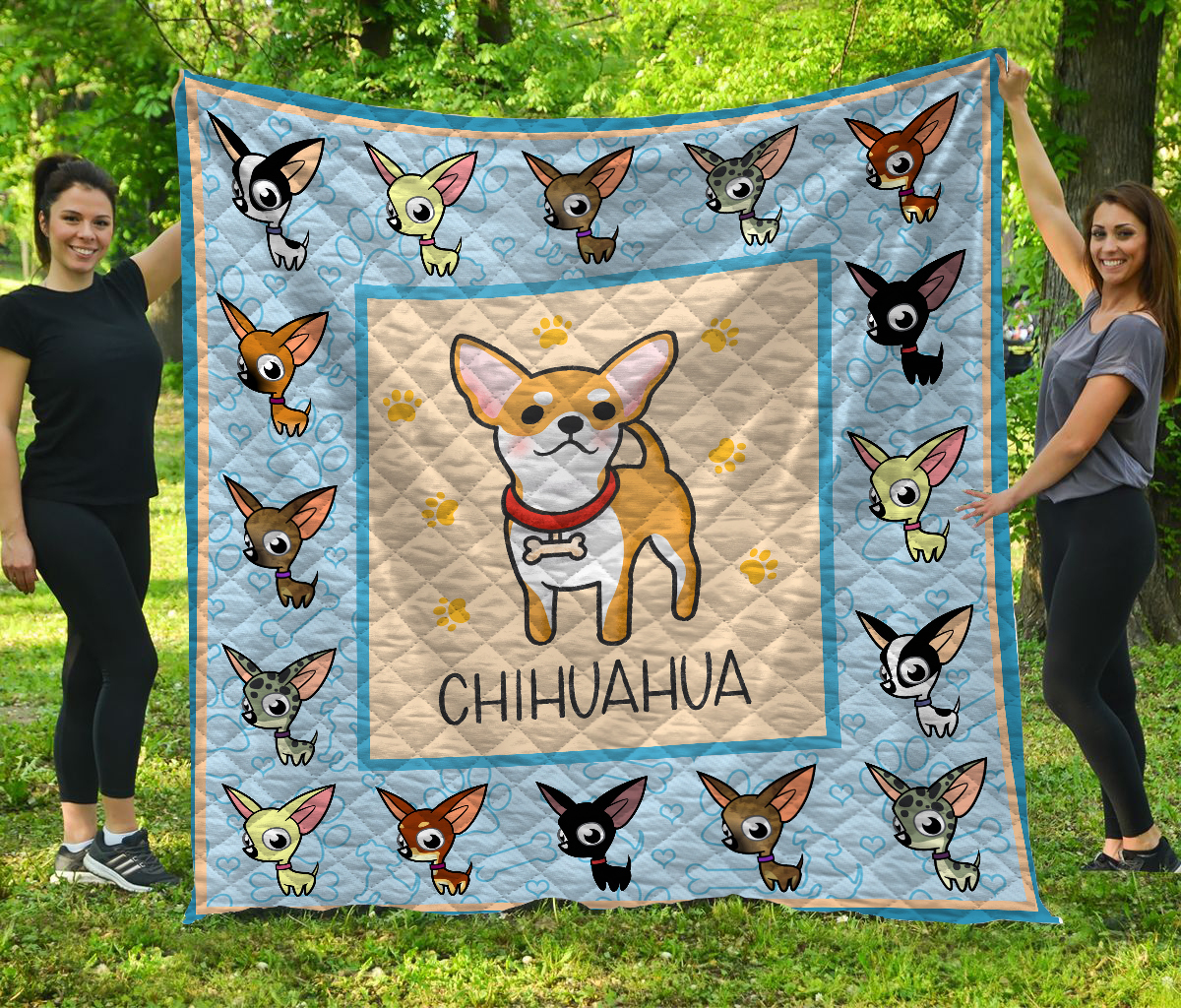 Baby chihuahua quilt 1