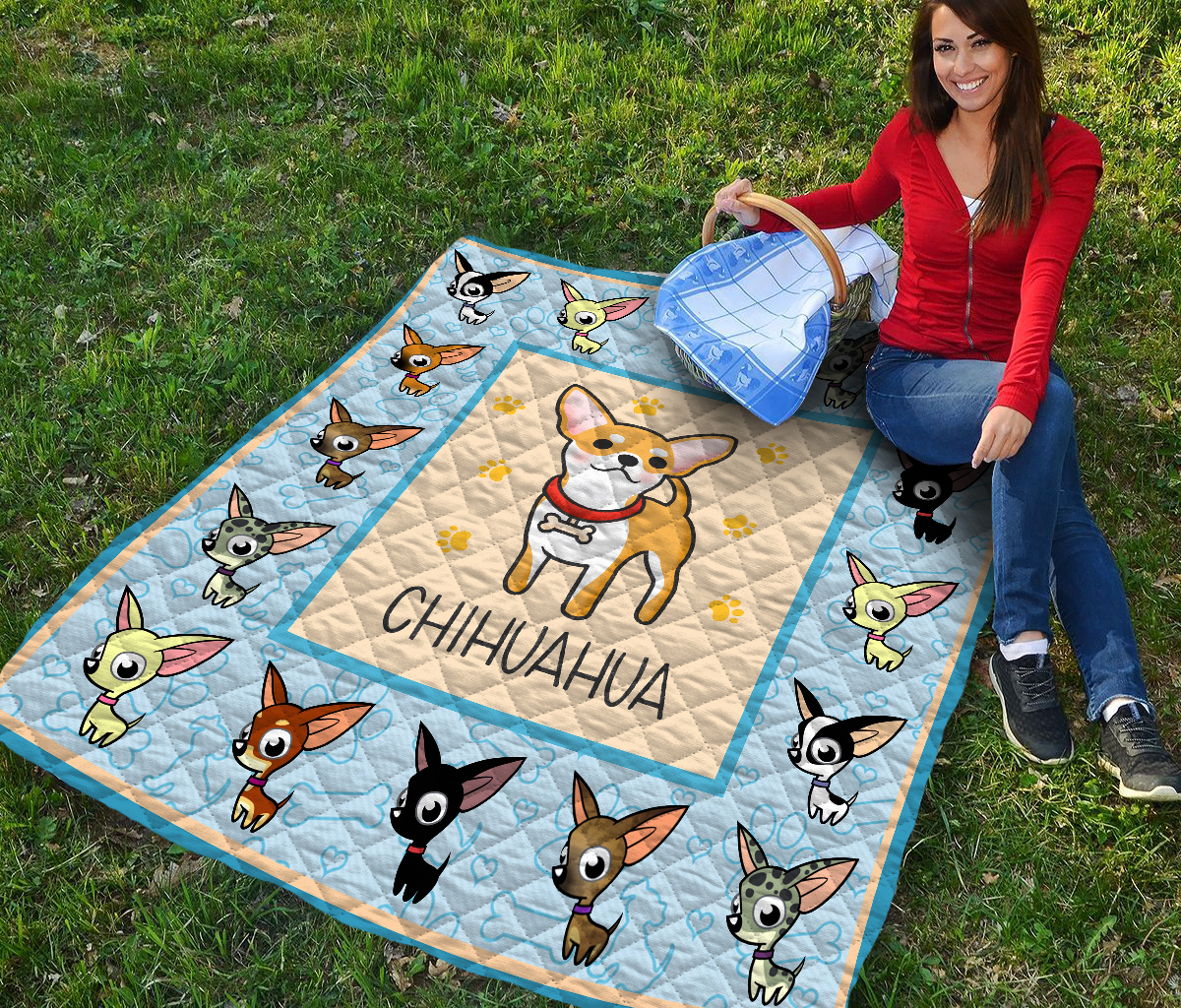 Baby chihuahua quilt 2