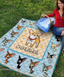 Baby chihuahua quilt