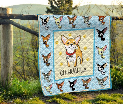 Baby chihuahua quilt 4