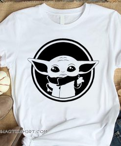 Baby yoda graphic shirt
