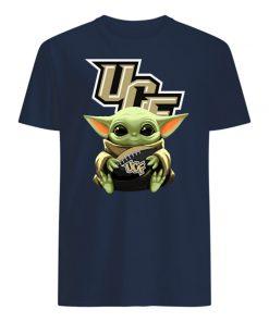 Baby yoda hug ucf knights mens shirt