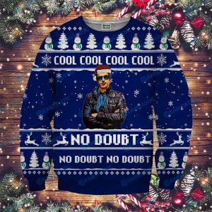 Brooklyn nine nine cool no doubt full printing ugly christmas sweater 2