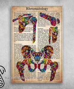 Daily nurse rheumatology is a branch of medicine poster