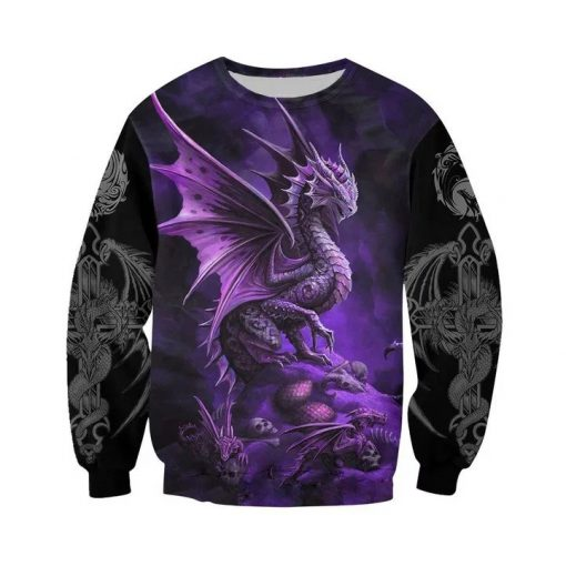 Dungeons and dragons all over printed sweatshirt
